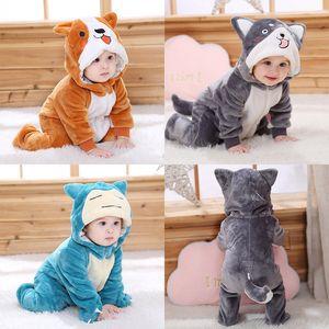 SAILEROAD Sevimli Husky Köpek Kigurumi Bebek Çocuk Karikatür Hayvan Cosplay Kostüm Sıcak Yumuşak Flanel Onesie Sevimli Köpek Pijama Vücut F1214 Suits