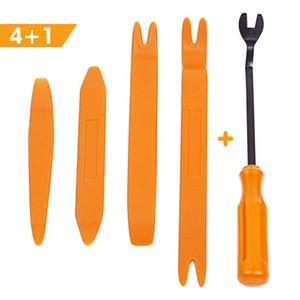 5pcs set Car Removal Tools Automobile Nail Puller Radio Audio Panel Door Repairing Clip Trim Removal Pry Repair Plastic Tool