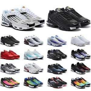 air max tn plus 3 zapatos de baloncesto Toro Red Suede Amarillo Naranja Azul Royal Cool Grey OG Mens Sport Trainer Zapatillas deportivas 8-13 Envío gratis