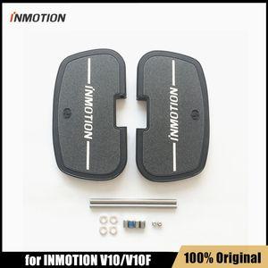 원래 Inmotion 부품 Inmotion V10 V10F 외발 자전거 자체 밸런스 스케이트 보드 스쿠터 페달 액세서리를위한 금속 페달 패드