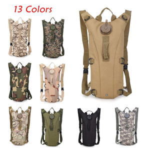 Outdoor 3L Water Bag Tactical Hydration Backpack Nylon 13 Colors New Running Cycling Camping Hiking Drinking Water Bag
