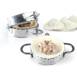 New Eco-Friendly Pastry Tools Stainless Steel Dumpling Maker Wrapper Dough Cutter Pie Ravioli Dumpling Mould Kitchen Accessories SN2132