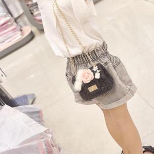 Accessories Handbags Girl Mini Purses and Handbags Woolen Crossbody Bags for Kids Small Wallet Girls Shoulder Bag Gift
