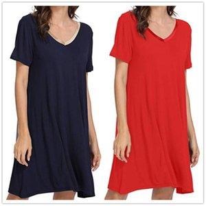 Женские спящие одежды Плюс Размер Ночные рубашки Для Женщин 2021 Летние Халаты Халаты Дамы Ночная рубашка Ночная гидромассажная Рукава С-2XL
