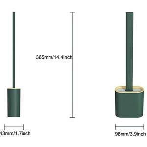 Portable Brush Toilet Brush Holder Creative Cleaning Brushes Set Toilet Brush Holder Set Durable Bathroom Clean Tool GWF4570