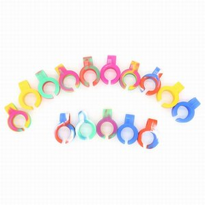 200PCS Silicone Cigarette Holder Tobacco Joint Holder Ring Regular Size Smoking Accessories Gift for Man Women
