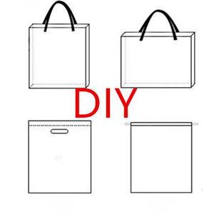Shopping bag customer DIY customization environmental protection high quality printable hot sale0XQ8iotia