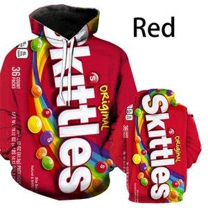 Neue beliebte Cheetos Snacks Serie Hoodies Frauen Männer 3D Kapuze Sweatshirt Lustige Qiduo Pommes Kartoffelchips Pullover Paar Tuch E122108