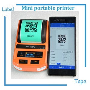 Mini Thermal Label Printer label Printing Machine with USB  Bluetooth for network cabel, tail cable, flat cable, check cable etc