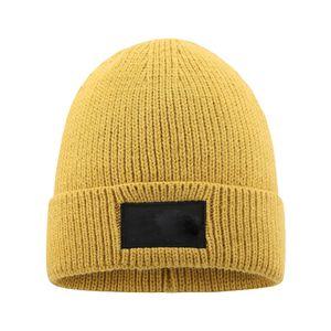 New Mens Beanie Winter Wool Hat New Fashion Womens Knitted Thicken Warm Polo Beanie Bonnet Cap OWF3242