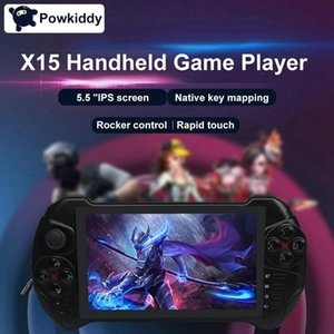 Powkiddy X15 Android Handheld Game Console WiFi Video Game Player 5.5-Inch Press Sn MTK8163 Quad Core 2G RAM 32G ROM TF Card