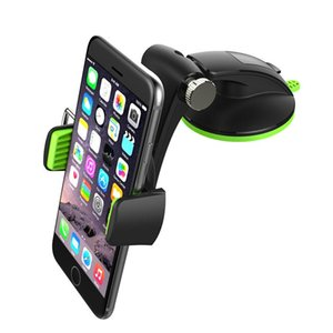 Portable Durable 2019 New Universal Car Phone Holder Suction Cell Phone Cradle Clip Clamp Hands Free Mobile Phone Mount Stand sqckBd