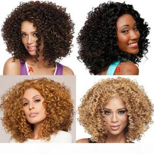 2019 hot new Wig air thin bangs long curly hair big wave realistic fluffy fashionJapan and South Korea Lace Frontal Wig Gaga queen