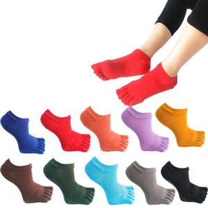 Yoga Socks Adult Cotton Short Ankle Sports Basketball Soccer Teenagers Cheerleader New Sytle Girls Women Sock with Tags 100pair T1I3054