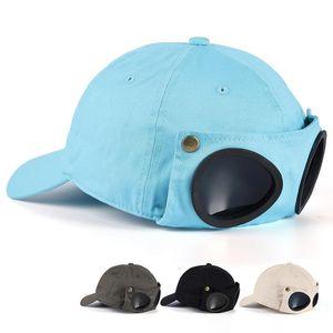Men Women Pilot Baseball Cap Hats Cotton Black Army Green Fashion Snapback Unisex Hip Hop Hat for Hiking Cycling