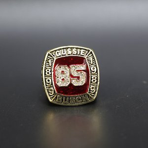 Exquisite Memorial Ring Wholesale Man Baseball of Fame Championship Ring Fashion Sports Jewelry Fans Sports Collection Fine Gift