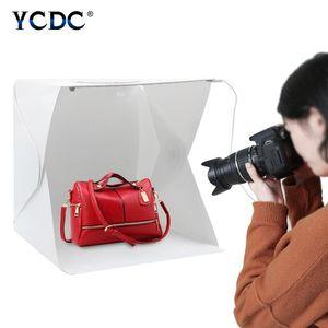 Lighting & Studio Accessories 40x40cm LED Panels Folding Portable Po Video Box Shooting Tent Kit Emart Diffuse Softbox Lightbox