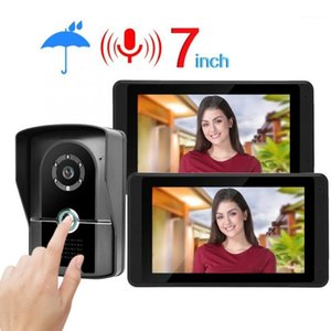 Video Intercom Video 7 pollici HD Phone Door Phone Campanello intercom Kit Home Gate Entry System 620FG121