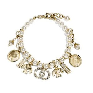 Tassel V C D Camellia Fashion Classic Copper Vintage Women Bracelet,Right Letter Brand Ladies Girl Bracelet Cuff