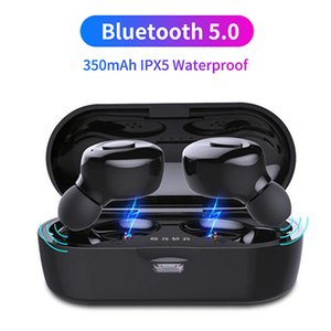 XG13 TWS Bluetooth 5.0 Earphone Stereo Wireless Earbuds HIFI Sound Sport Handsfree Gaming Headset with Mic PK XG12 For All Phone