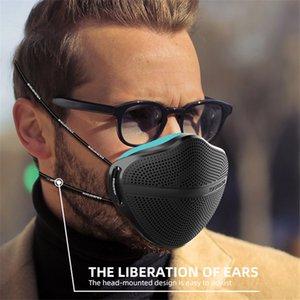 Silikon-Gesichtsmaske Schutzmasken Maske Atemschutzer ersetzen Filter PM2.5 Waschbare wiederverwendbare Lebensmittelqualität Silikon Komfortables Gefühl GWE3448