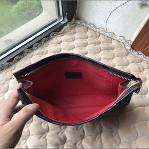 높은 품질의 새로운 핸드 가방 여행 화장품 26cm 보호 메이크업 클러치 여성 가죽 방수 화장품 가방 먼지 가방