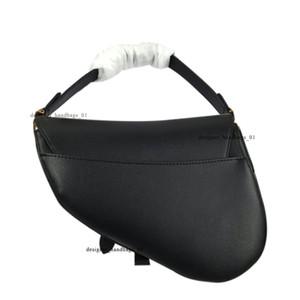 Top Luxurys Designers Bags Diseñador Handbag Lady Saddle Bags Bolsos con letras Bolso de hombro Hombro de cuero genuino de alta calidad