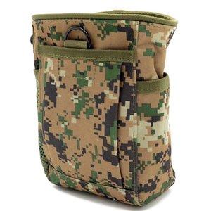 Camping Pack Pack Magazine Bag Dump Drop Reloader Bag Bolsa UTILIDAD Caza Bolsos Portátiles Accesorios para exteriores