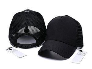 2019 New brand mens designer hats adjustable baseball caps lady fashion hat summer trucker casquette women leisure cap dropshipping