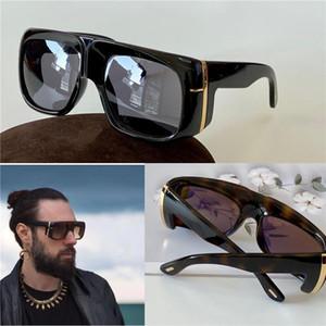 Новые моды дизайн солнцезащитные очки 733 квадратная рамка толстая пластина кадр авангард стиль унисекс высшее качество продажи UV400 защитные очки