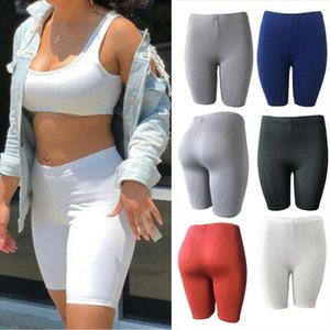 Womens Leggings Stretch Biker Shorts Workout Spandex New Seamless sports womens pants casual shorts Drop Shipping