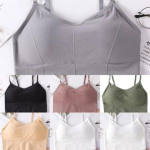 FMN5Z No Top Mujeres Marca Tops Tops Chaleco Tanque De Tanque Ring Tanh Tanh Chaleco Hombro Sexy CasualBeautiful Nuevo chaleco Lady Uniform Sports Blusa DVJUH