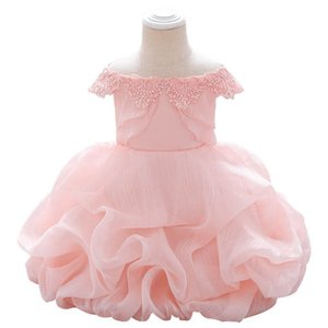 New baby girl dresses 1st birthday dress for baby girl dress formal dresses party dresses Infant dress princess baby girl clothes B3064