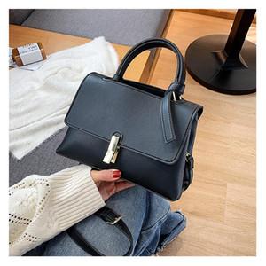 Sac à bandoulière pour femmes Designer de luxe Cuir PU 2021 Fashion Sac à main pour femmes Sac à chevauche Femme Color Color Fille Voyage