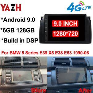 "6GB 128GB Auto Radio GPS الملاحة ل BMW 5 Series E39 X5 E38 E53 1990-2006 Android 9.0 رئيس وحدة DSP Car DVD ستيريو 9.0 ""عرض"