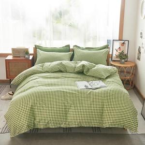 Chicieve 1 Stampa verde Lovely Style Style Style Set di biancheria da letto Meglio di alta qualità Fashion Foodshase Cover Quilt Casa Famiglia