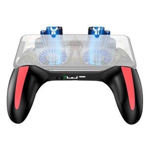 H10 Plug-in Gamepad Controller Joystick, Used to Release the Trigger Dual Cooling Fan Game Radiator
