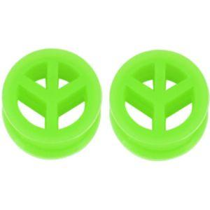1pair Sile Ear Gauges Plugs And Tunnels Star Dilataciones Oreja Piercing Ear Spirals Plug Expander Stretcher Piercing Orelha Q bbyBfc