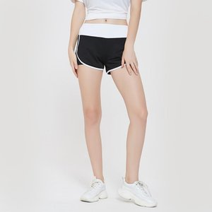 2020 New Summer Yoga Shorts Women Fitness Top Spandex Neon Elastic Running Workout Short Leggings For Ladies Gym Sport Shorts