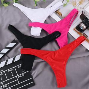 New Classic Cut Short Bottoms Biquini Swim Ladies Swimsuit Women Briefs Bikini Bottom Side Ties Brazilian Thong Swimwear