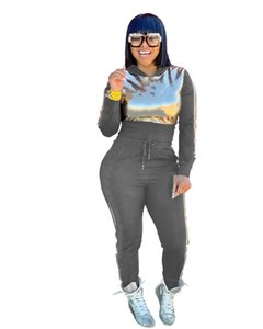 Womens designer tracksuit jacket leggings 2 piece set outfits outerwear tights sport suit long sleeve cardigan pants klw5642