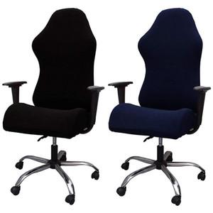 BMBy-Elastic Electric Gaming Chair Copre ufficio domestico Internet caffetteria rotante bracciolo casi di sedia stretch
