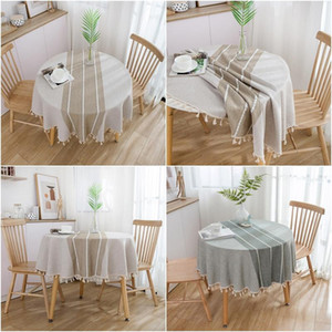 Round Tablecloth Lace Table Cover Table Clothes for Kitchen Dining Wedding Home Decor Floral Cloth Mantel Mesa Nappe