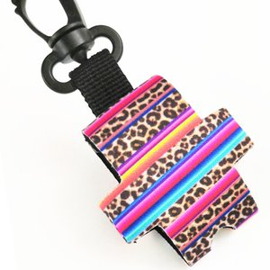 Neoprene Hand Sanitizer Holder Perfume Sleeve With Clip Keychain Party Favor Gift 30ml Various Styles EEF3893