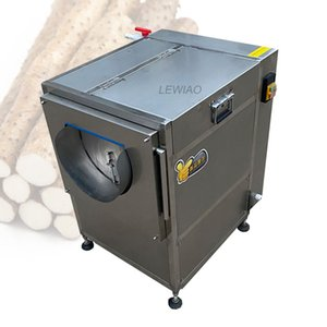 2021 Automatic restaurant vegetable fruit potato washing peeling machine New design fruit vegetable washing peeling machine