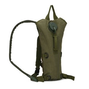 New 3L Tactical Outdoor Hydration Water Backpack Waterproof Bag With Bladder For Hiking Climbing Riding 5 Colors