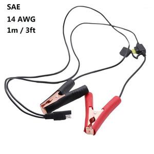 14AWG Batterie Alligator Krokodilclip Clips an SAE Quick Release-Anschlussverlängerung 12V-Adapter Schnellkabel 1M / 3FT1