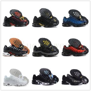 Volt Glow Toggle Lacing tn plus se mens trainers shoes Zapatos des chaussures tns 3 trainers Team Red Parachute men sports sneakers 40-46