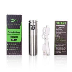 Longmada cera vape penna a forma di quarzo al quarzo vapore al quarzo anti-atomizzatore vaporizzatore in vetro con vaporizzatore di batteria di preriscaldamento da 100W fumare sigarette elettroniche
