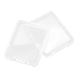 Shatter Caixa de proteção de caixa de proteção de caixa de recipiente Caixa de cartão de memória Caixa de cartão CF Ferramenta transparente plástico fácil de transportar YYS2809